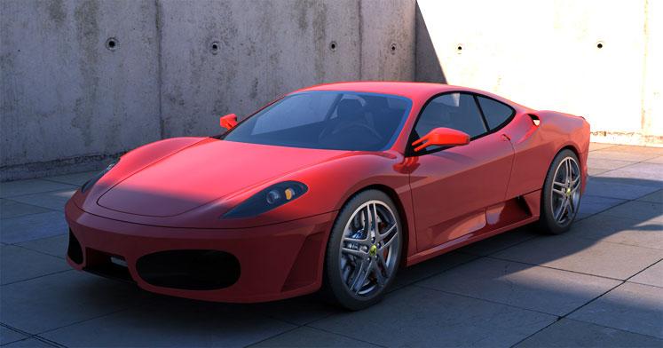 Lej en Ferrari og kør selv
