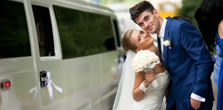 Hummer limo til bryllup