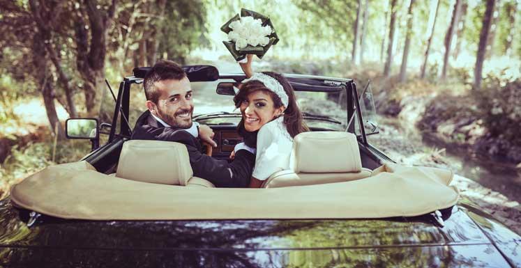Kør selv til bryllup