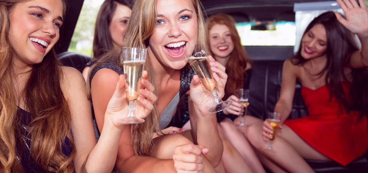 Festlig limousinekørsel i hele landet