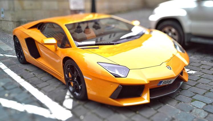 Lej en Lamborghini i Danmark