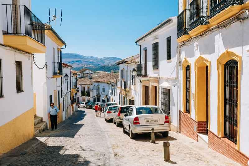 Parkering i Malaga